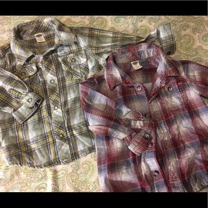 SUPER CUTE L/S FLANNEL TYPE SHIRTS